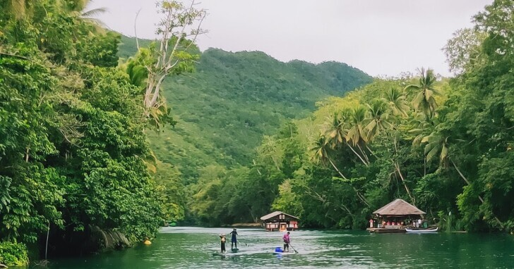 鯨奇宿霧薄荷島 - 薄荷島 - 放山雞的一天 洛博克遊河 Loboc River Cruise