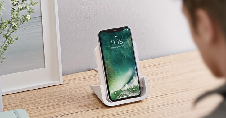 羅技推出 POWERED 立式 iPhone 無線充電座