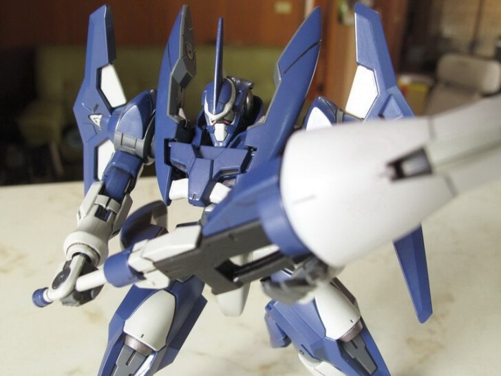 HG00 Advanced GN-X – 一天到晚作模型的MS翰