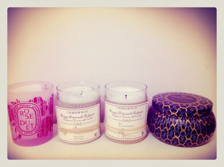 ♥Fragrance♥ My favorite scented candles 我最愛的香氛蠟燭分享!
