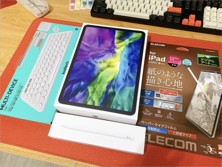 【開箱】iPad Pro(2020)11吋+Apple Pencil二代&配件